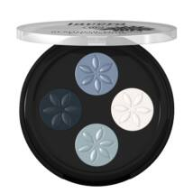 Lavera Beautiful Mineral Eyeshadow Quattro - blue platinum