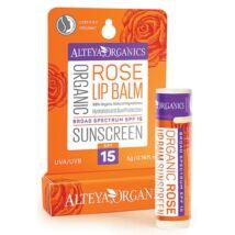 Alteya Organics Sunscreen Lip Balm Rose (SPF15) 5g