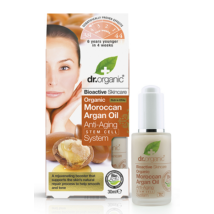 Dr. Organic Moroccan Argan Oil Stem Cell Anti-Ageing System 30ml