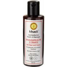 Khadi Bath and Body Wash - Pomegranate and Orange 210ml