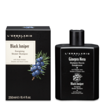 L'Erbolario Black Juniper Energising Shower Shampoo 250ml
