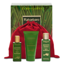 L'Erbolario Rabarbaro Travel Set