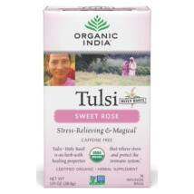 Organic India Tulsi Sweet Rose Tea - 18 bags