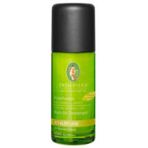 Primavera Energising Ginger Lime Roll-On Deodorant 50ml