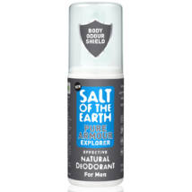 Salt of the Earth Natural Roll-On Deodorant - Pure Armour for Men 75ml