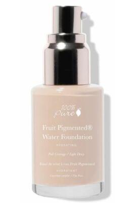 100% Pure Fruit Pigmented® Erős fedésű vízbázisú alapozók