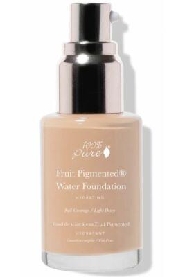 100% Pure Fruit Pigmented® Erős fedésű vízbázisú alapozó - Warm 4.0 30ml