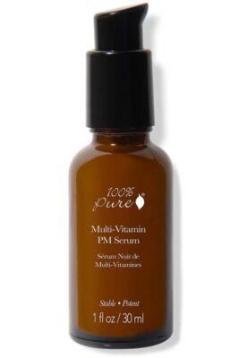 100% Pure Multivitamin+antioxidáns éjszakai szérum 30ml