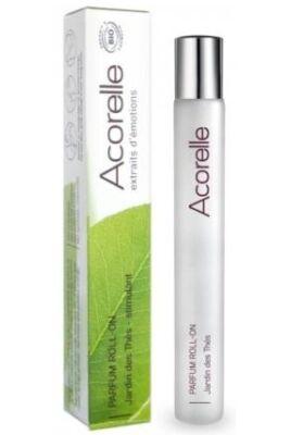 Acorelle Bio parfüm (EDP) Roll-on - Japán Teakert (Energetizál) 10ml
