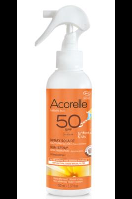Acorelle Bio napvédő spray - arcra és testre SPF50 150ml