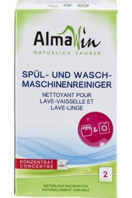 AlmaWin Mosó-és mosogatógép tisztító koncentrátum 2x100g