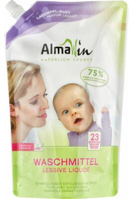 AlmaWin Folyékony mosószer koncentrátum - 23 mosásra levendulailattal 1,5L
