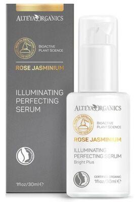 Alteya Organics Jázmin-Rózsa hialuronsavas bőrtökéletesítő szérum 30ml