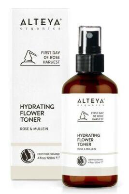 Alteya Organics Bio Rózsa & Mullein hidratáló arctonik 120ml