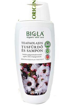 Biola Teafaolajos tusfürdő és sampon 200ml