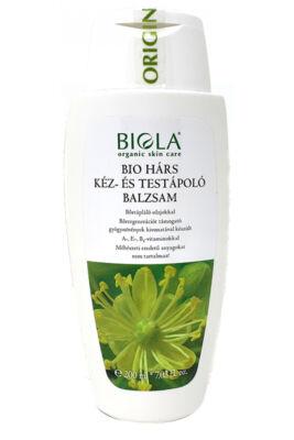 Biola Bio hárs kéz- és testápoló balzsam 200ml