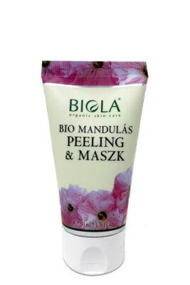 Biola Bio mandulás peeling & maszk 50ml