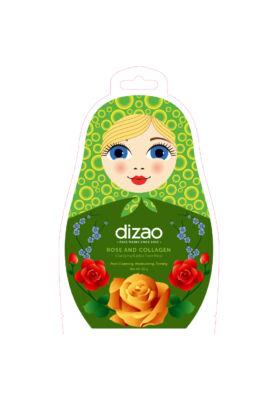 Dizao Tisztító rózsa és kollagén buborék fátyolmaszk 25g