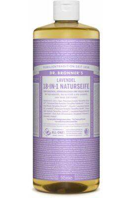Dr. Bronner's Levendula folyékony szappan koncentrátum 475ml