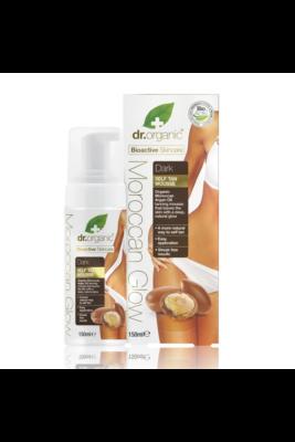 Dr. Organic Moroccan Glow Önbarnító hab - Dark 150ml