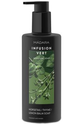 Mádara INFUSION VERT Hidratáló folyékony szappan citrom- és kakukkfűvel 300ml