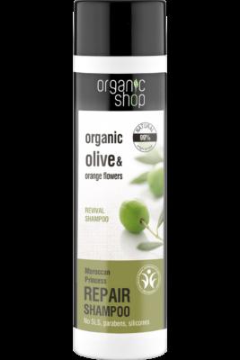 Organic Shop Sampon Regeneráló Marokkó Hercegnője 280ml