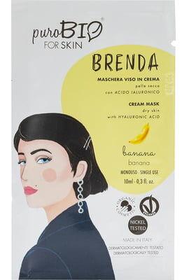 PuroBIO Arcmaszkok: Brenda krémmaszkok száraz bőrre