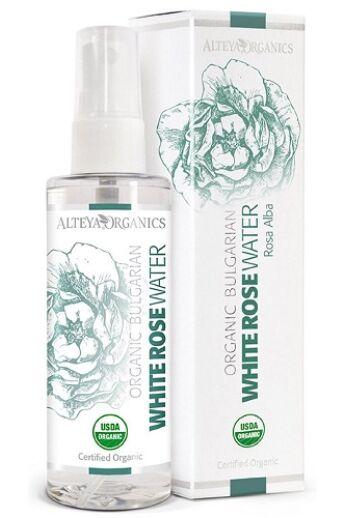 Alteya Organics Bio virágvíz - Fehér rózsa 100ml