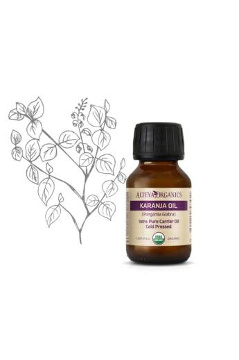 Alteya Organics Karanja olaj (Pongamia glabra) - bio 50ml