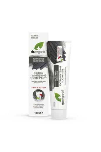 Dr. Organic Extra fehérítő fogkrém aktív szénnel 100ml