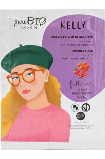 PuroBIO Arcmaszkok: Kelly Alginát maszkok száraz bőrre