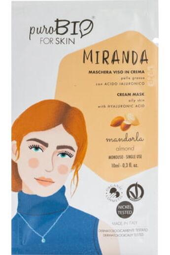PuroBIO Arcmaszkok: Miranda Krémmaszkok zsíros bőrre