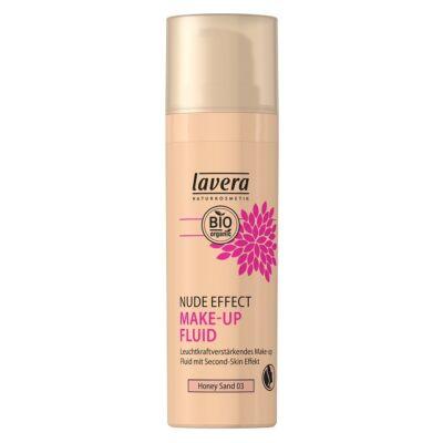 Lavera Nude Effect Make-up Fluid - honey sand