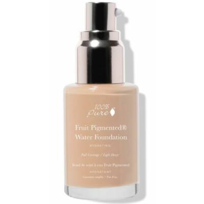 100% Pure Fruit Pigmented® Full Coverage Water Foundation - Warm 4.0 30ml