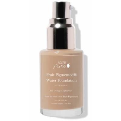100% Pure Fruit Pigmented® Full Coverage Water Foundation - Warm 5.0 30ml