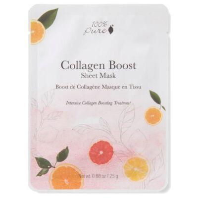 100% Pure Sheet Mask - Collagen Boost 25g