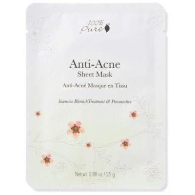 100% Pure Sheet Mask - Anti Acne 25g