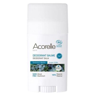 Acorelle Organic Deodorant Balm - Juniper Mint 40g