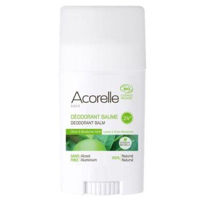 Acorelle Organic Deodorant Balm - Lemon Green Mandarin 40g