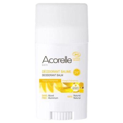 Acorelle Organic Deodorant Balm - Ylang Palmarosa 40g