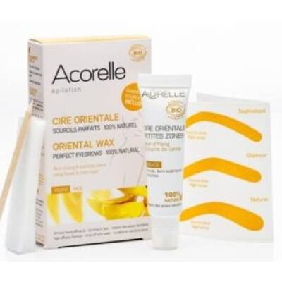 Acorelle Organic Oriental Sugar Wax: eyebrowns, upper lip, retouch 15ml