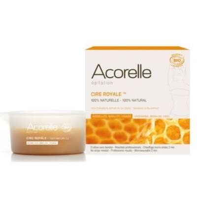 Acorelle Cire Royale Beeswax: underarms, bikini line and face 100g