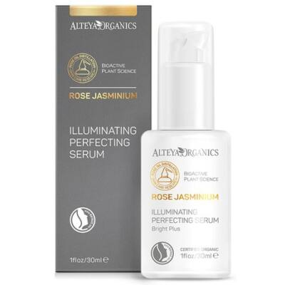 Alteya Organics Rose Jasminium Illuminating Perfecting Serum with Hyaluronic Acid 30ml