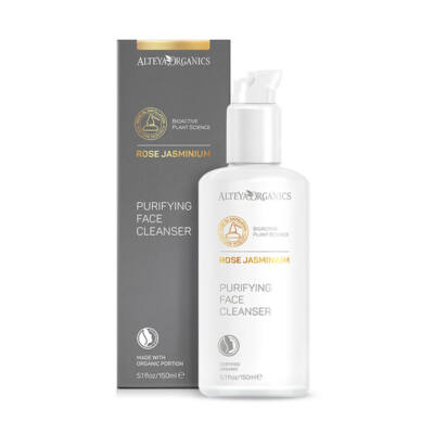 Alteya Organics Purifying Face Cleanser – Rose Jasminium 150ml