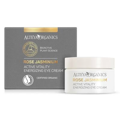 Alteya Organics Active Vitality Energizing Eye Cream - Rose Jasminium 15ml