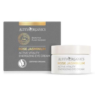 Alteya Organics Rose Jasminium Active Vitality Energizing Eye Cream 15ml