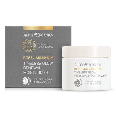 Alteya Organics Timeless Glow Renewal Moisturizer - Rose Jasminium 50ml