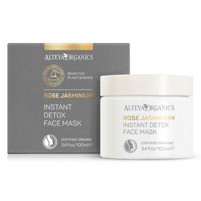 Alteya Organics Instant Detox Face Mask - Rose Jasminium 100ml