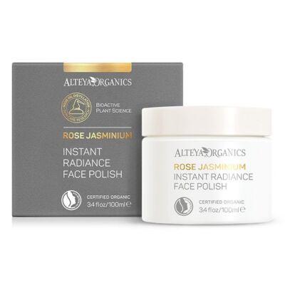 Alteya Organic Instant Radiance Face Polish - Rose Jasminium 100ml