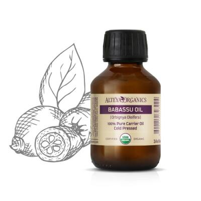 Alteya Organics Babassu Oil (Orbignya oleifera) - organic 100ml